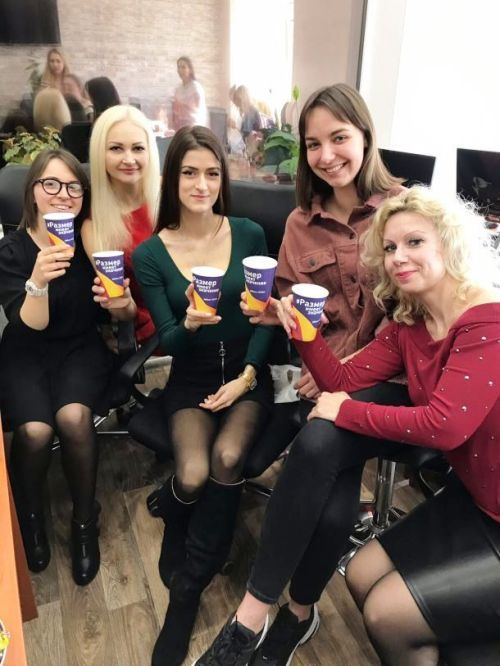 Friendly employees of Russian marriage agencies