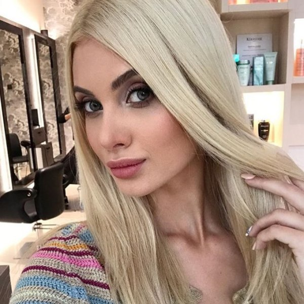 Gorgeous Russian woman for dating with a foreign man