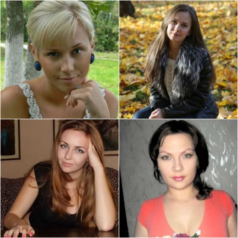 Single women from Russia on dating websites