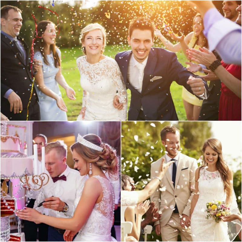 Weddings of Russian single girls
