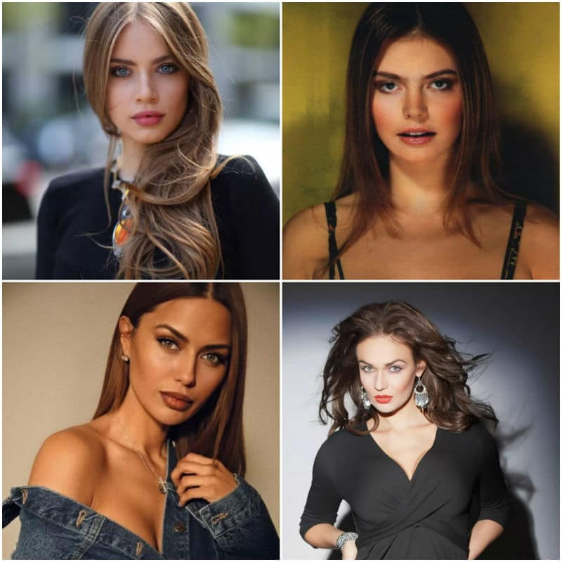 The best-looking celebrities from Russia