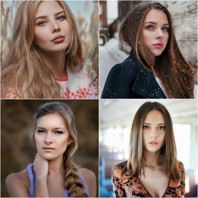 Profiles of girls from Russia