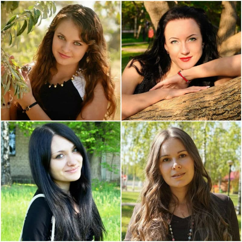 Attractive ordinary women from Russia