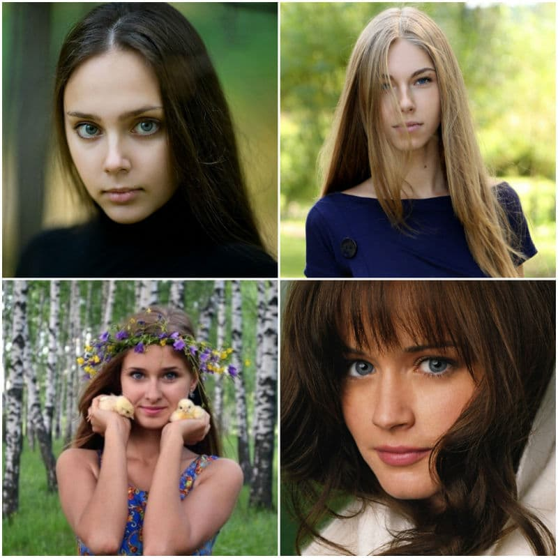 Russian girls' verified accounts